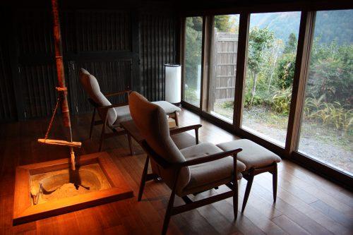 Gorgeous interiors of renovated historic homes at Ochiai hamlet in Tokushima.
