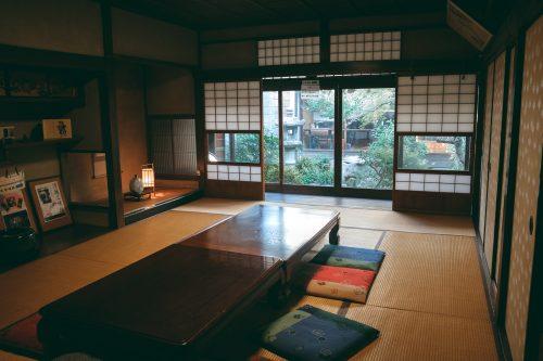 Otsu Hyaku Machi Kan in Otsu City, Shiga Prefecture, near Kyoto, Japan
