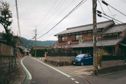 Village of Ogi, Shiga Prefecture, near Kyoto, Japan