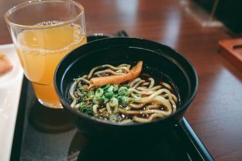 Toyama black ramen, a specialty.