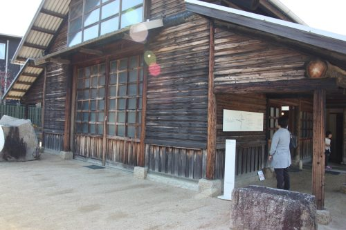 Isamu Noguchi's workshop known as the Garden Museum in Takamatsu, Kagawa Prefecture.