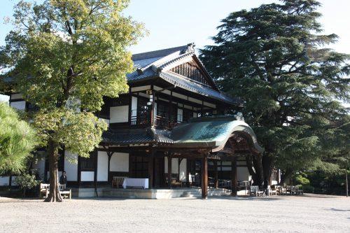 A museum in Ritsurin Garden in Takamatsu, Kagawa Prefecture.