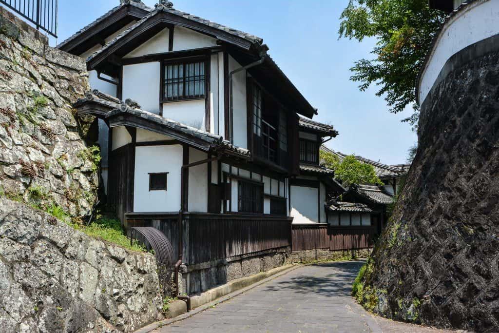 Traditional Japanese  Samurai Town, Historic Residence in Usuki, Oita Prefecture, Kyushu