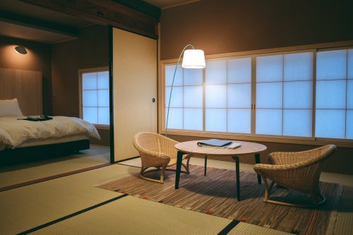 Hotel Koo in Otsu City, Shiga Prefecture, near Kyoto, Japan
