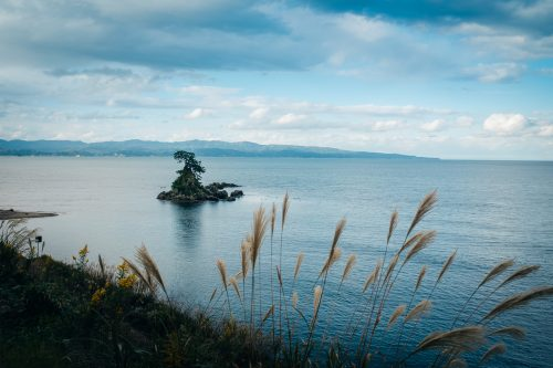 Amaharashi beach is one of Japan's 100 best beaches.