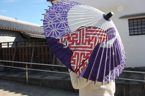 Exploring the art of Japanese umbrella making in Udatsu.