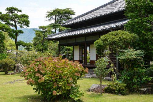 Inaba Residence, Usuki Samurai Town, Historic Residence, Oita Prefecture, Kyushu