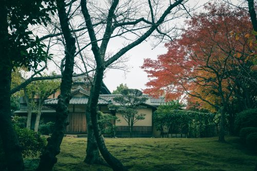 The former home of Sen no Rikyu, master of the tea ceremony, Sakai, Osaka, Kinki region, Japan