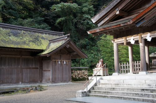 Miho-jinja Shrine, Mihonoseki, Shimane Prefecture, San'in Region, Japan