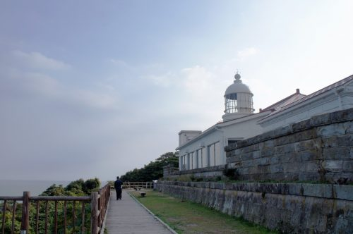 Mihonoseki Lighthouse, Shimane Prefecture, San'in Region, Japan