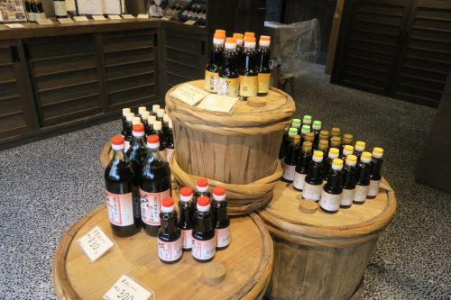 Soy sauce products from Sakae Shoyu Jozo in Shizuoka