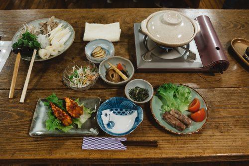 Kiritanpo Nabe at Lodge Yodel, Semboku, Akita Prefecture