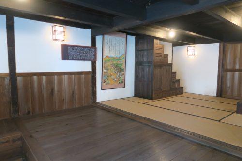 A historic inn at Nissaka-shuku in Shizuoka