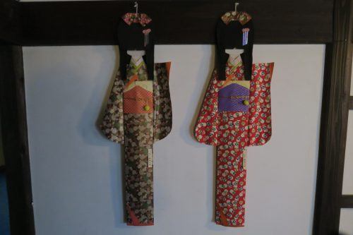 Cute decorations at Ryokan Masagokan in Kakegawa, Shizuoka.
