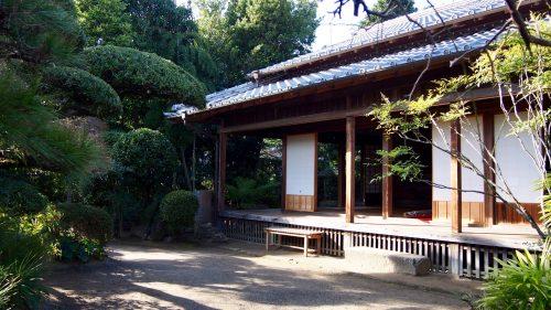 A beautifully maintained samurai residence in Izumi, Kagoshima.