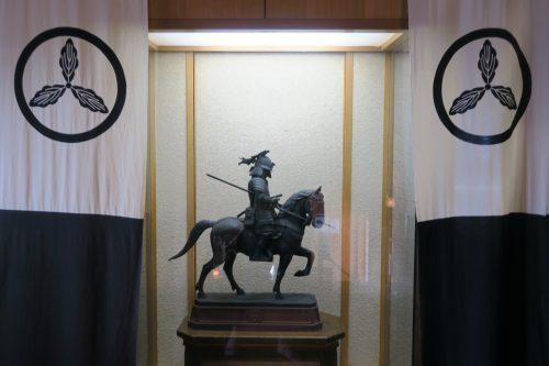 Historic art at Kakegawa Castle, Shizuoka