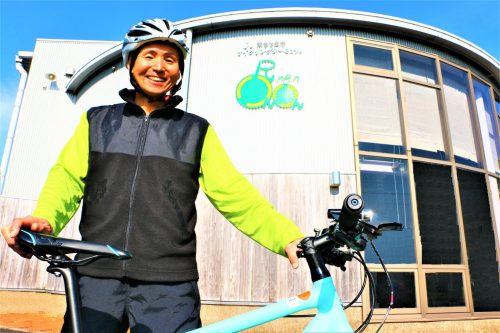 Akira Kato, cycling tourism guide in Minamisatsuma, Kagoshima, Japan