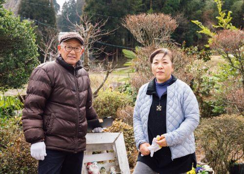 Nishinokubo owners Kazuhiro and Yukimi Shiga.