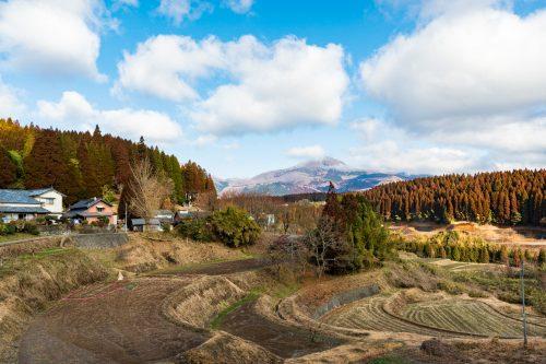The Nishinokubo farm stay in Taketa city, Oita Prefecture.