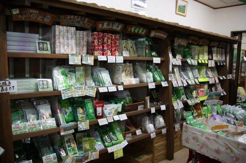 Green tea shop in Higashisonogi, Nagasaki, Kyushu, Japan.