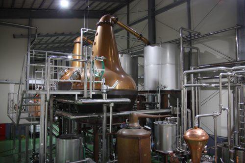 Mars Tsunuki distillery, Japanese whiskey distillery in Minamisatsuma, Kagoshima, Kyushu, Japan.