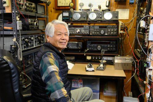 Mr. Ono of Wakabayashi Farm Stay in Yufu city, Oita.