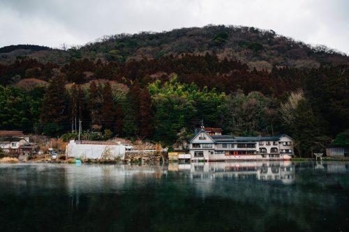 Kinrin Lake in Yufuin, Yufu City, Oita.