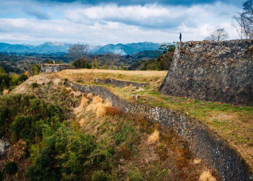 Oka Castle Ruins, Taketa city, Oita, Kyushu