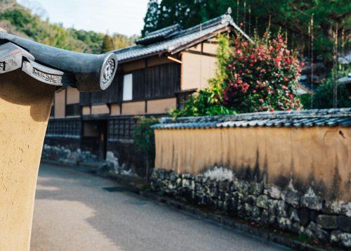 Samurai quarter at Taketa city, Oita Prefecture, Kyushu
