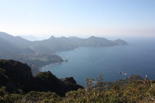 View from Mt. Kamegaoka in Kagoshima.