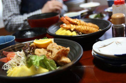 A local restaurant in Higashisonogi, Nagasaki, Kyushu, Japan.