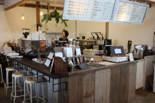 Sorriso riso, a cafe and vintage shop in Higashisonogi, Nagasaki, Kyushu, Japan.