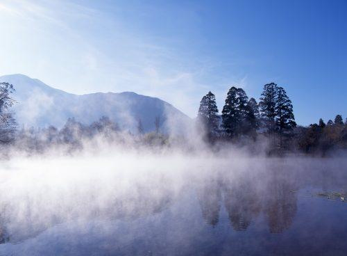 Lake Kinrin, Yufu City, Oita, Kyushu