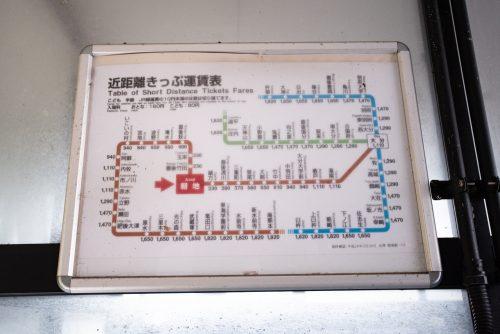 Asaji station in Bungoono, Oita, Kyushu, Japan.