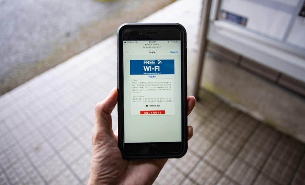 wifi in Japan