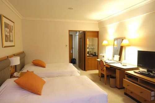 The Odayku Highland Hotel, conveniently located in the center, can be accessed directly by bus from Shinjuku.