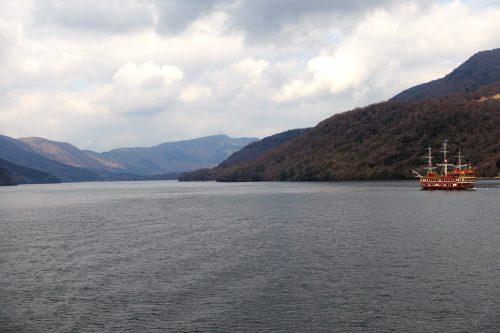 Hakone Sightseeing Cruise - a symbol of Hakone.