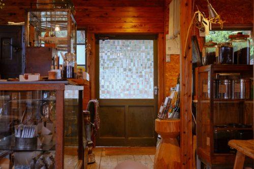 Interior of Mametake in Nakatsu, Oita.