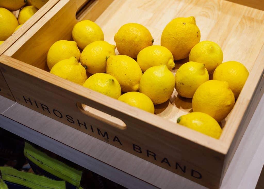 Setouchi lemons are a Hiroshima specialty