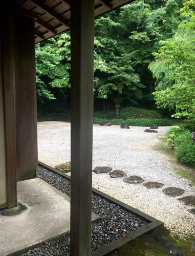 Kyushintei garden entrance