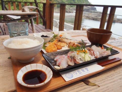 Lunch at Fukashima Shokudo
