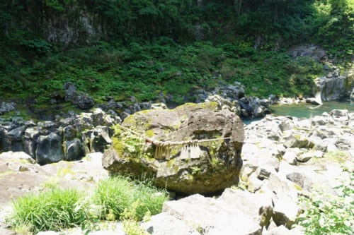 Kihachi Rock at Takachiho Gorge