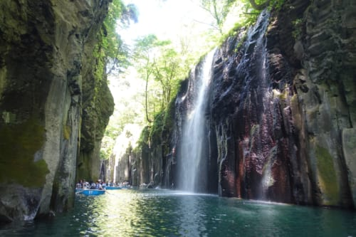 Boating on Takachiho Gorge