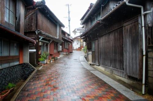 Backstreets of old Ojika, Nagasaki Prefecture