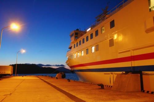 Taiko ferry at Hakata Port
