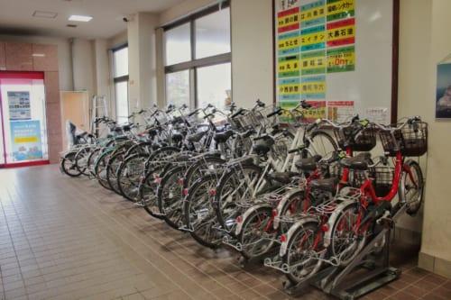 Ojika's ferry terminal