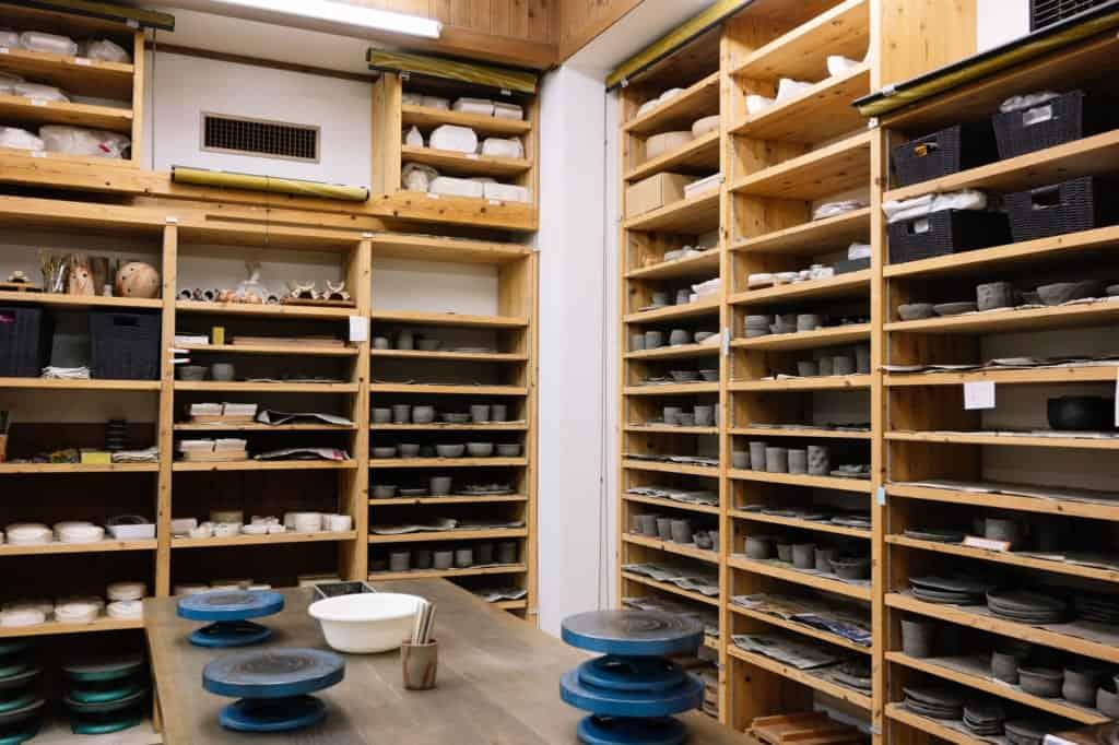 Bizen Pottery experience at Okayama Castle