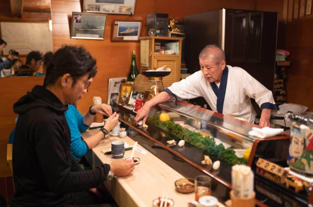 Benten Sushi.