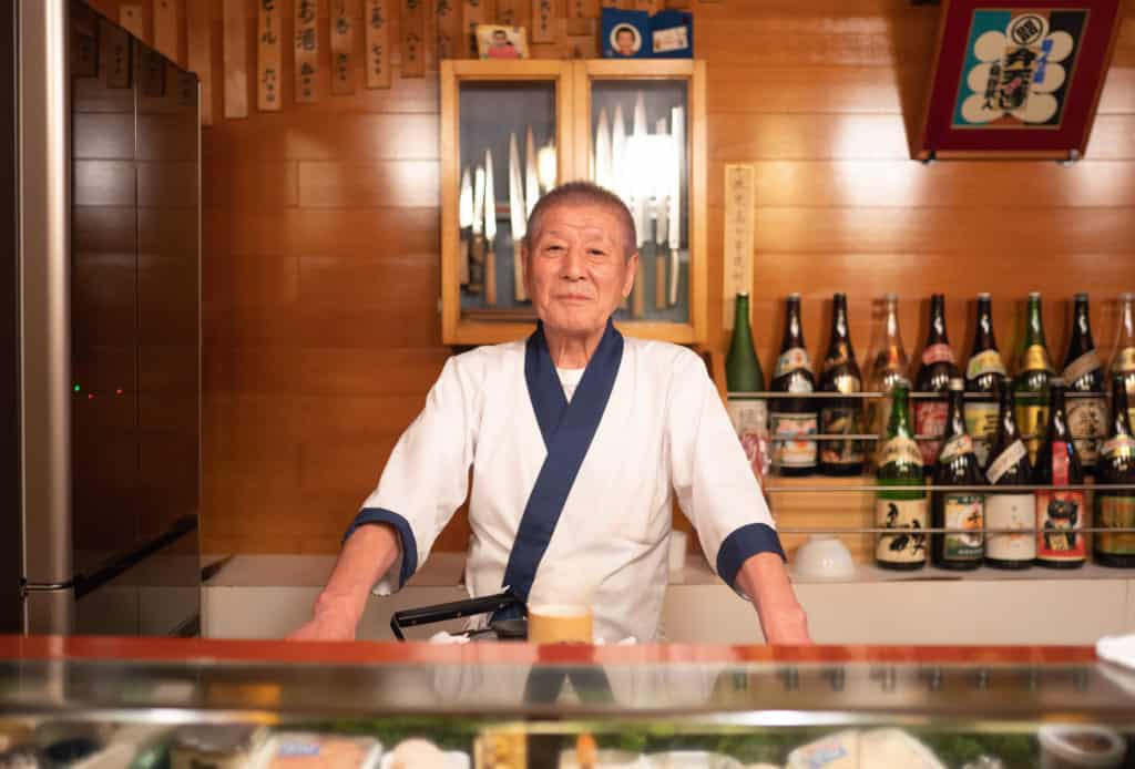 The owner of Benten Sushi.
