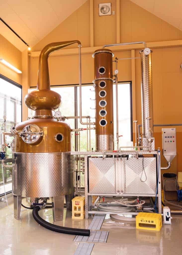 Japanese microbrewery equipment in Japan
